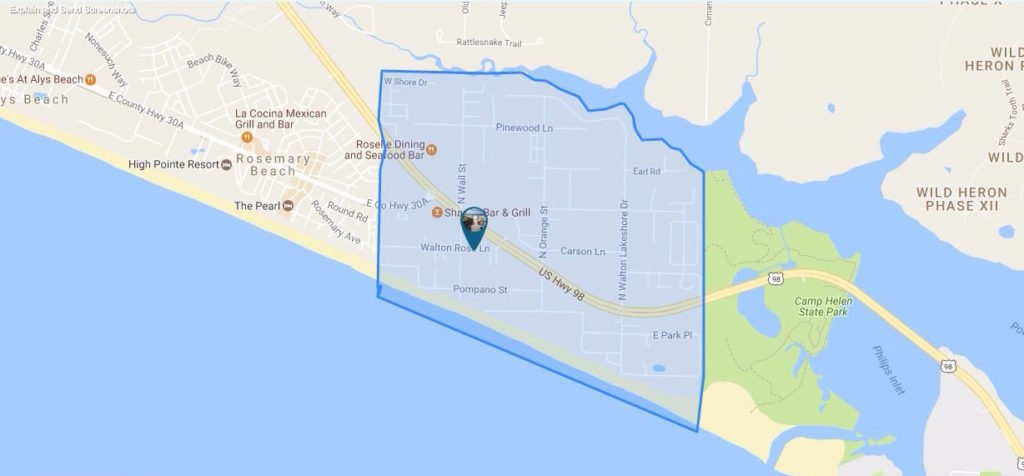 Inlet Beach Homes For Sale